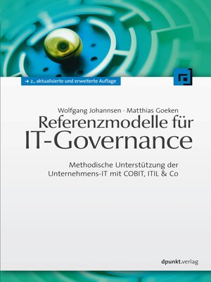 cover image of Referenzmodelle für IT-Governance