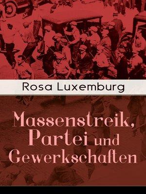 cover image of Massenstreik, Partei und Gewerkschaften