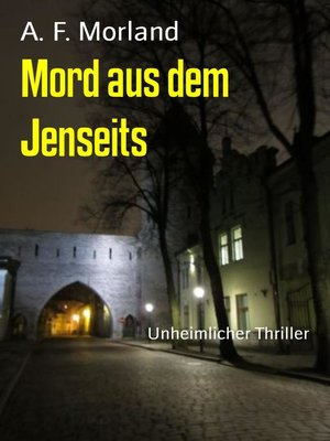 cover image of Mord aus dem Jenseits