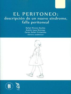 cover image of El peritoneo