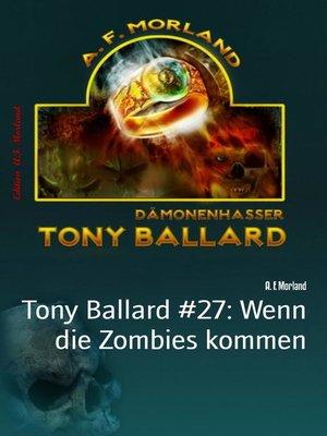 cover image of Tony Ballard #27