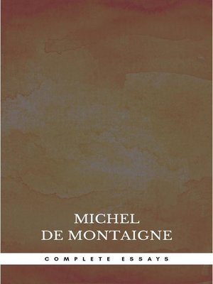 cover image of Complete Essays