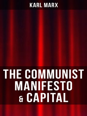 cover image of THE COMMUNIST MANIFESTO & CAPITAL