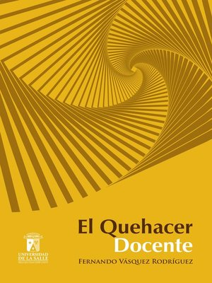 cover image of El quehacer docente