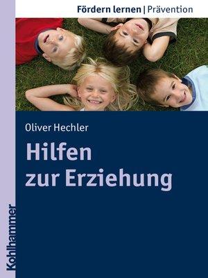 cover image of Hilfen zur Erziehung