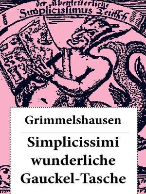 cover image of Simplicissimi wunderliche Gauckel-Tasche