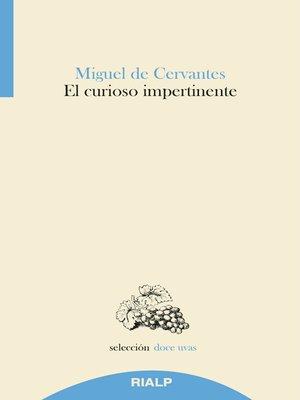 cover image of El curioso impertinente