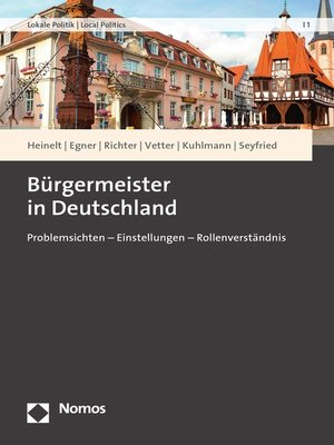 cover image of Bürgermeister in Deutschland