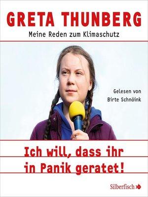 cover image of Ich will, dass ihr in Panik geratet!