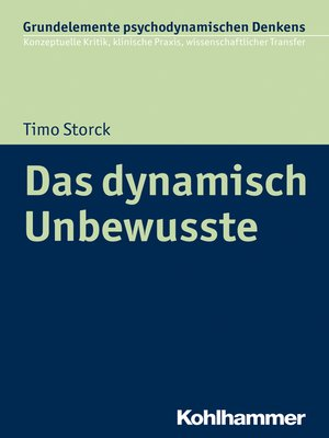 cover image of Das dynamisch Unbewusste