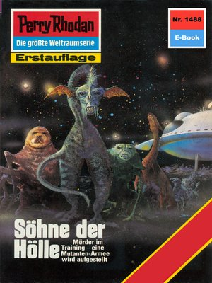 cover image of Perry Rhodan 1488
