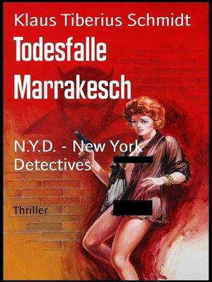 cover image of Todesfalle Marrakesch