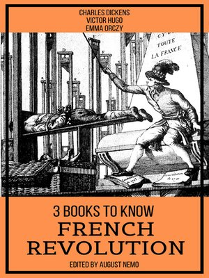 cover image of 3 books to know French Revolution
