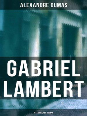 cover image of Gabriel Lambert