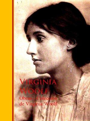 cover image of Obras --Coleccion de Virginia Woolf