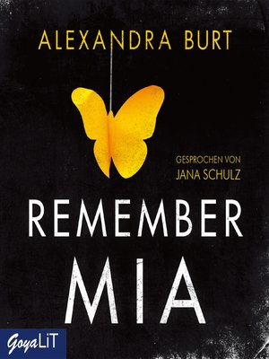 cover image of Remember Mia