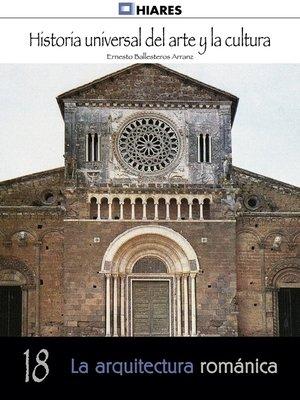 cover image of La arquitectura románica