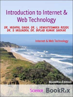 cover image of Introduction to Internet & Web Technology