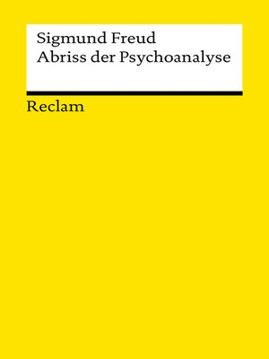 cover image of Abriss der Psychoanalyse