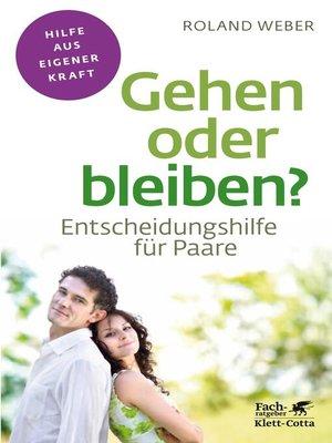 cover image of Gehen oder bleiben?