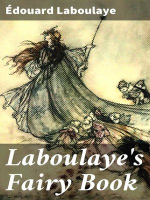 cover image of Laboulaye's Fairy Book