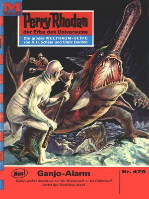 cover image of Perry Rhodan 479