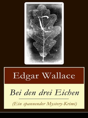 cover image of Bei den drei Eichen (Ein spannender Mystery-Krimi)