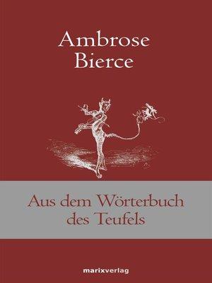 cover image of Aus dem Wörterbuch des Teufels
