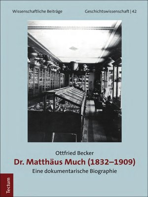 cover image of Dr. Matthäus Much (1832-1909)