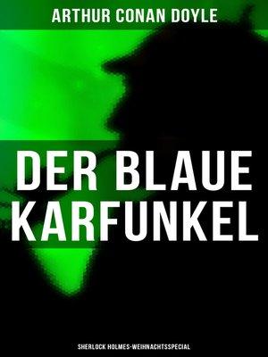 cover image of Der blaue Karfunkel (Sherlock Holmes-Weihnachtsspecial)