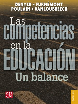 cover image of Las competencias en la educación