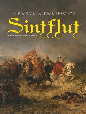 cover image of Sintflut (Historischer Roman)