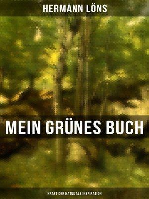 cover image of Mein grünes Buch--Kraft der Natur als Inspiration
