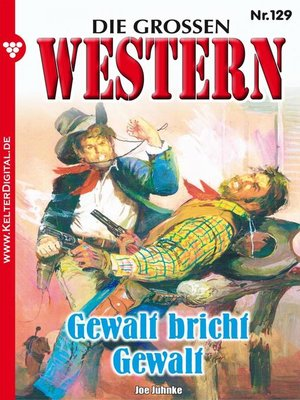 cover image of Die großen Western 129