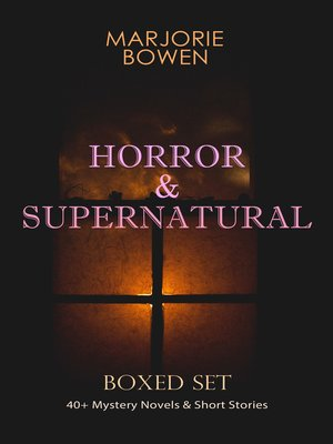 cover image of HORROR & SUPERNATURAL Boxed Set