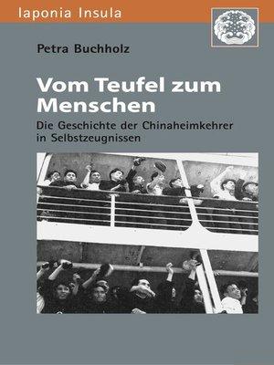 cover image of Vom Teufel zum Menschen