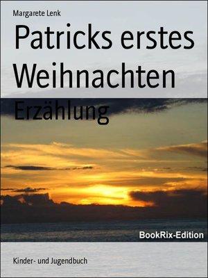 cover image of Patricks erstes Weihnachten