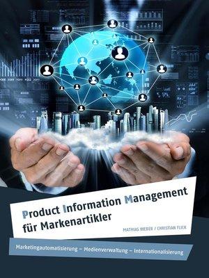 cover image of Product Information Management für Markenartikler