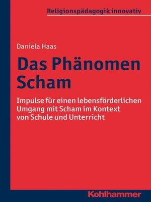 cover image of Das Phänomen Scham
