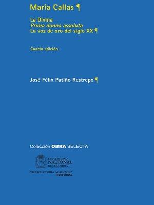 cover image of María Callas