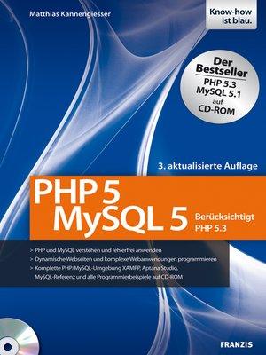 cover image of PHP5--MySQL5