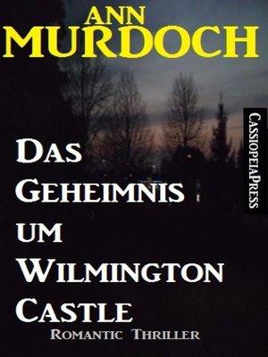 cover image of Ann Murdoch Romantic Thriller