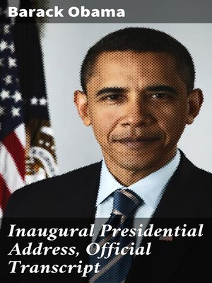 cover image of Inaugural Presidential Address, Official Transcript