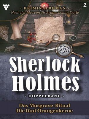 cover image of Sherlock Holmes Doppelband 2 – Kriminalroman