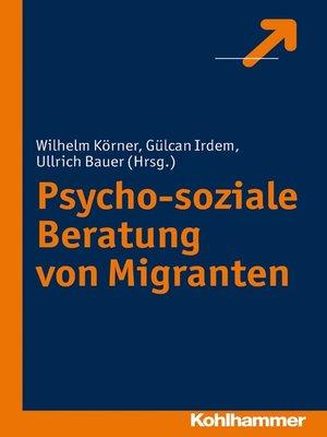 cover image of Psycho-soziale Beratung von Migranten
