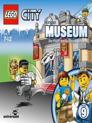 cover image of Folge 9--Museum--Der Fluch des Goldenen Schädels