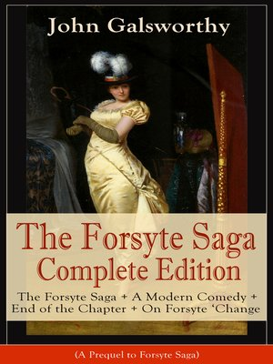 cover image of The Forsyte Saga Complete Edition