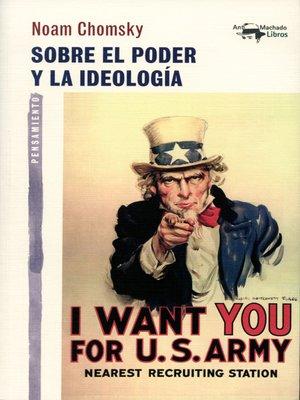 cover image of Sobre el poder y la ideología