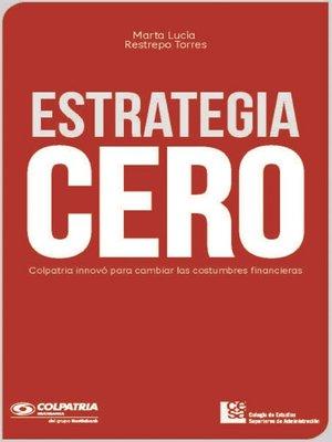 cover image of Estrategia CERO
