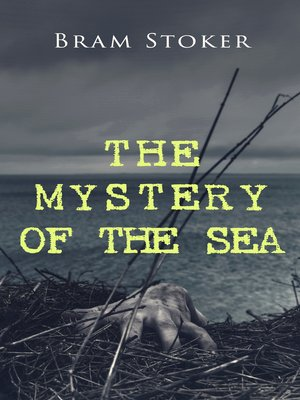cover image of THE MYSTERY OF THE SEA